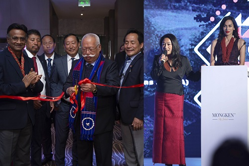 1.(LEFT)Minister CM Chang Inaugurates Mongken Brand(Right)Dr Anungla, DUDA join director delivering the introductory note.