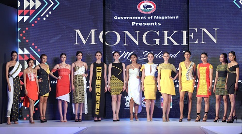 2.Models displaying the Mongken Spring Summer Collection 2020