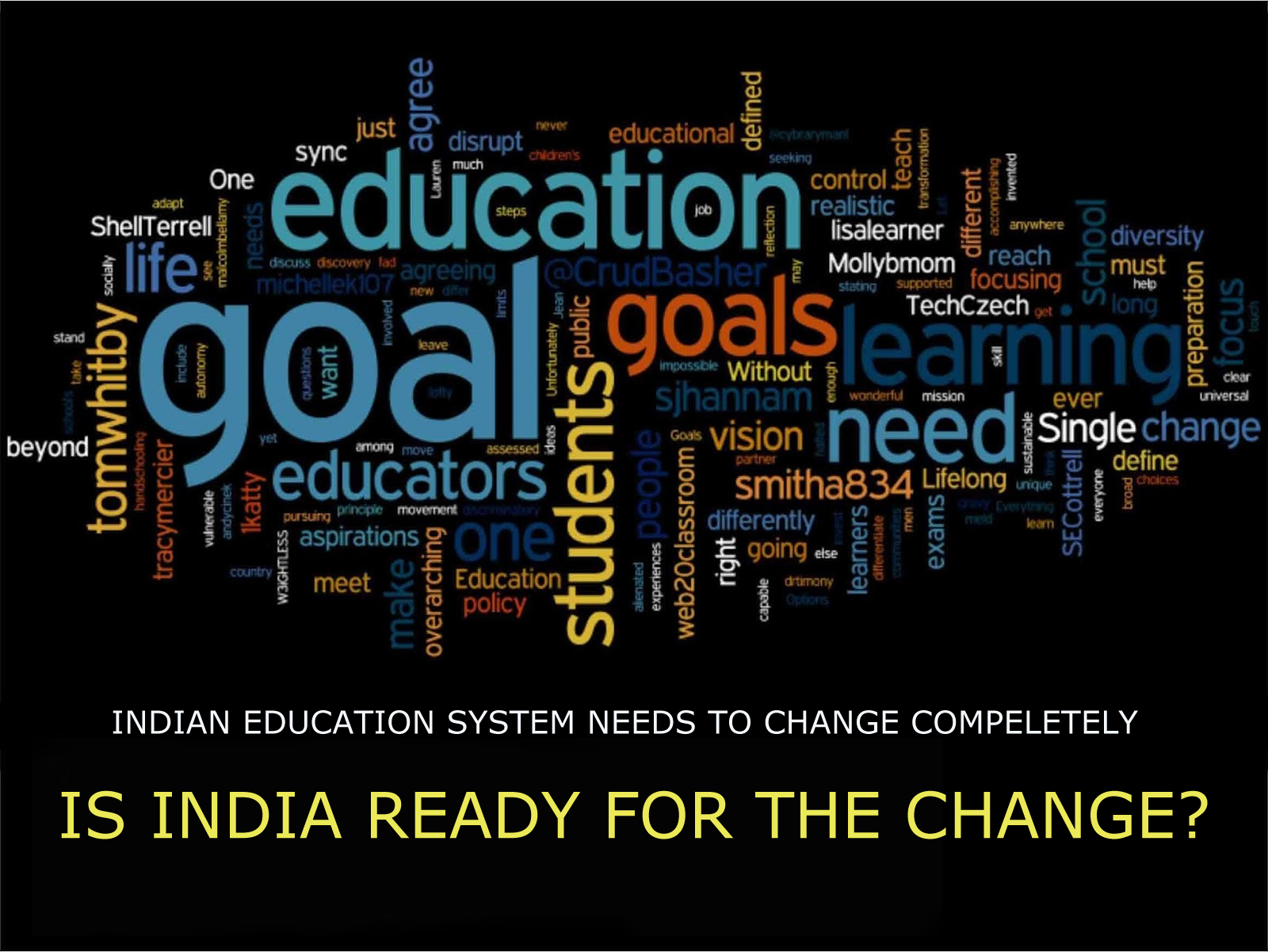 What Do We Need To Change About Indian Education System