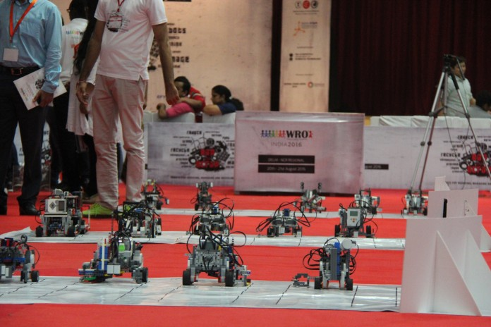 The World Robot Olympiad 2016 at Genesis Global School