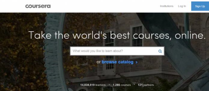Coursera launches program of