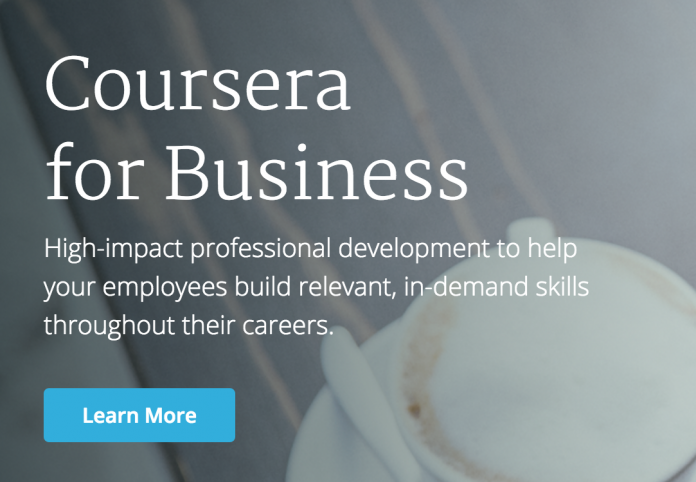 Coursera Launches Coursera for Business, an Enterprise Platform for Workforce Development at Scale