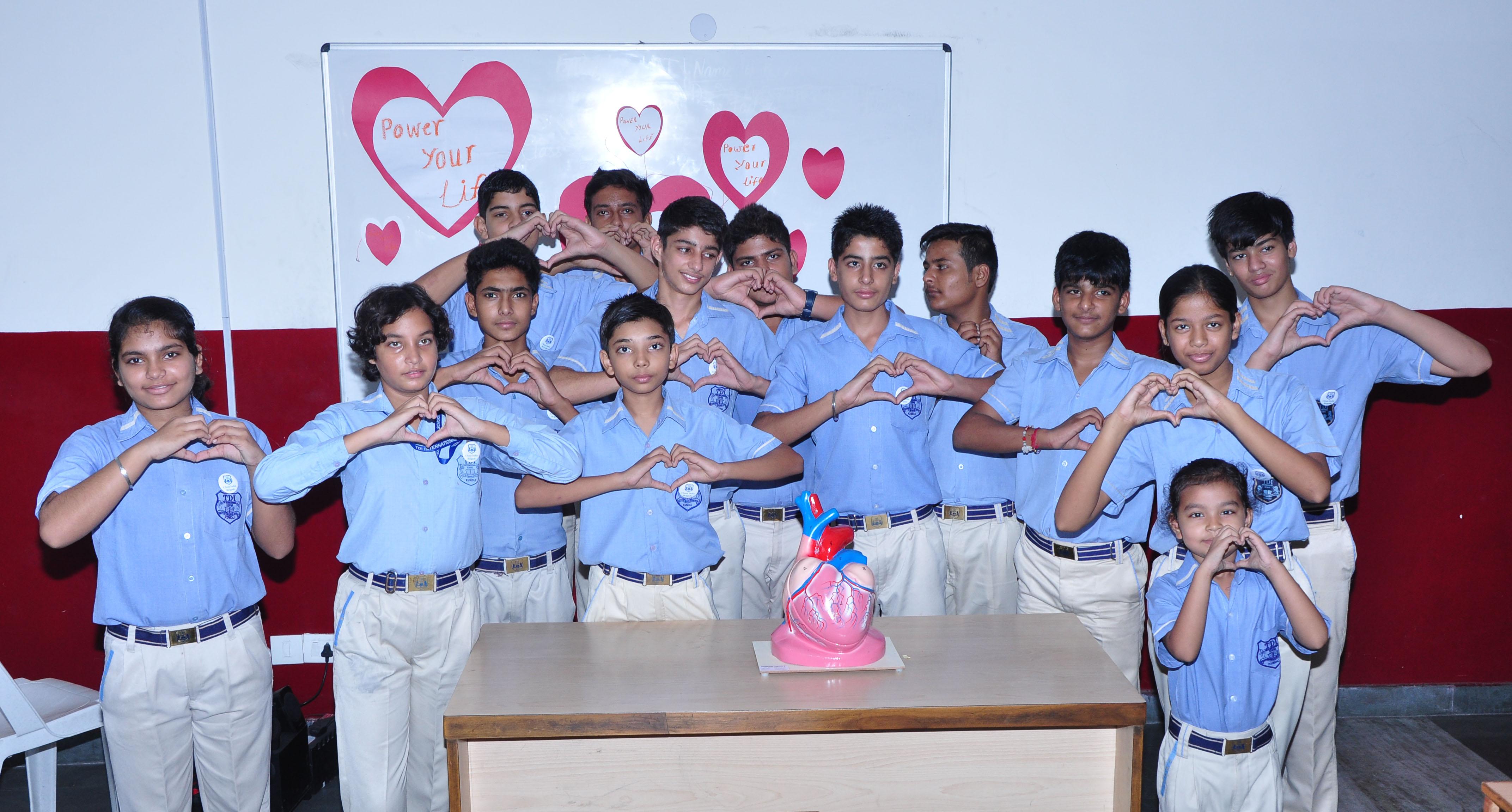 TDI International School conducts Workshop