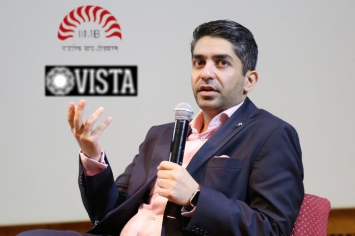 Abhinav Bindra World and Olympic Champion at IIMB VISTA