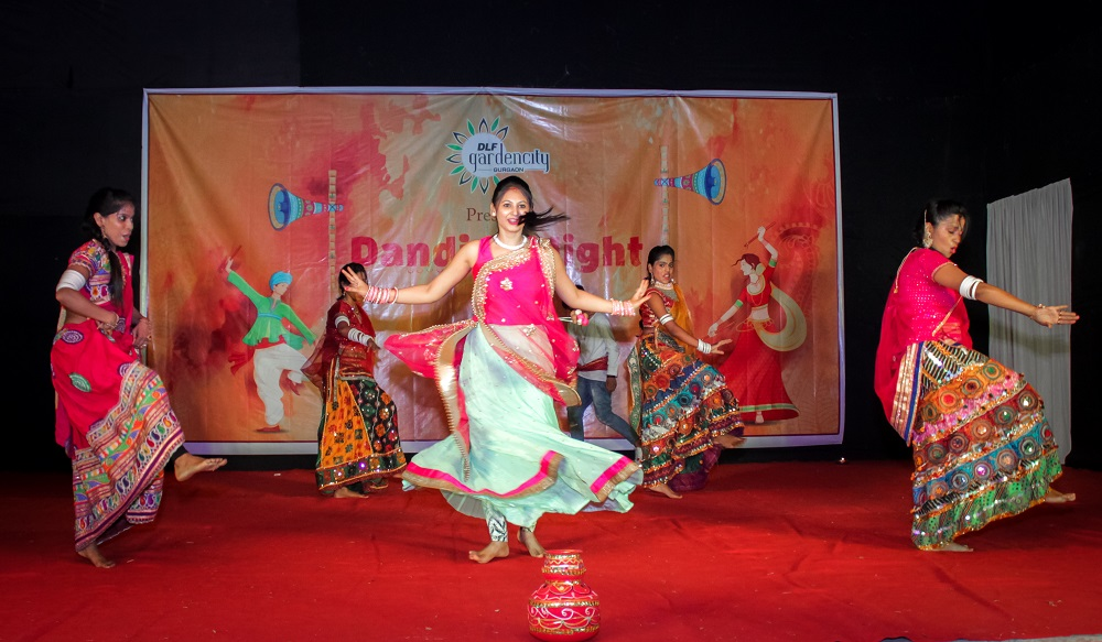 Dandiya Night celebrated at DLF Gardencity