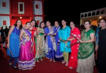 Dandiya Night celebrated at DLF Gardencity