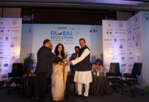 Mata Bhagwanti Chadha Niketan receives the 'Leaders Speak Global Education Summit Award 2016'