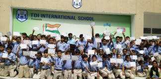 TDI School Celebrates Anniversary of Swachh Bharat Mission