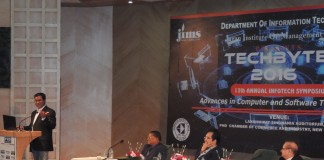 "JIMS Rohini organized 13th Annual IT symposium ""TECHBYTE 2016"""
