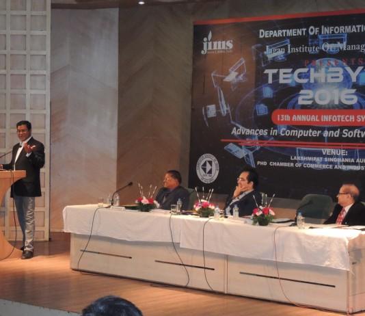 "JIMS Rohini organized 13th Annual IT symposium ""TECHBYTE 2016"""
