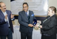 Dr. Koshy Conferred International Holden Medal Award