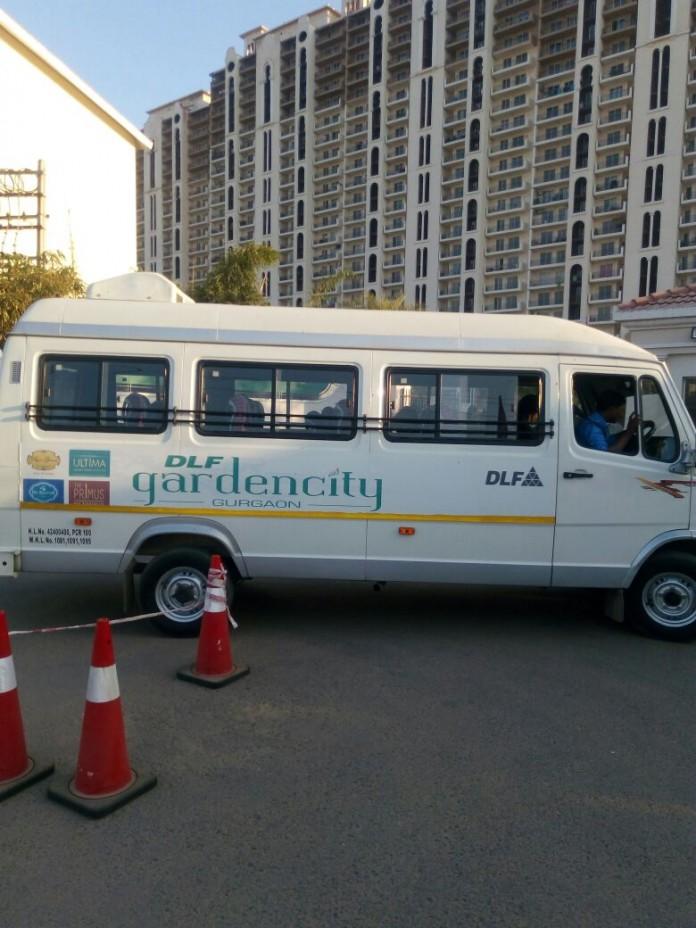 DLF Gardencity Shuttle makes commuting easier