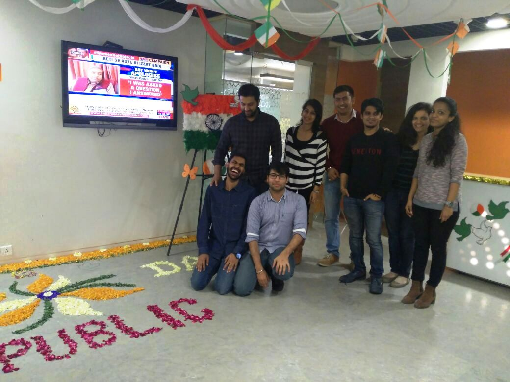 Republic Day at Vatika Business Centre