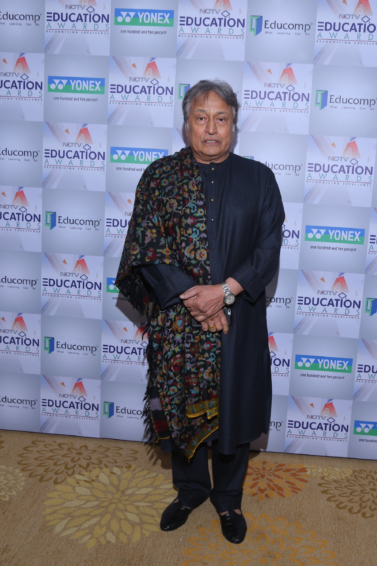 Ustad Amjad Ali Khan at the NDTV Education Awards 2017