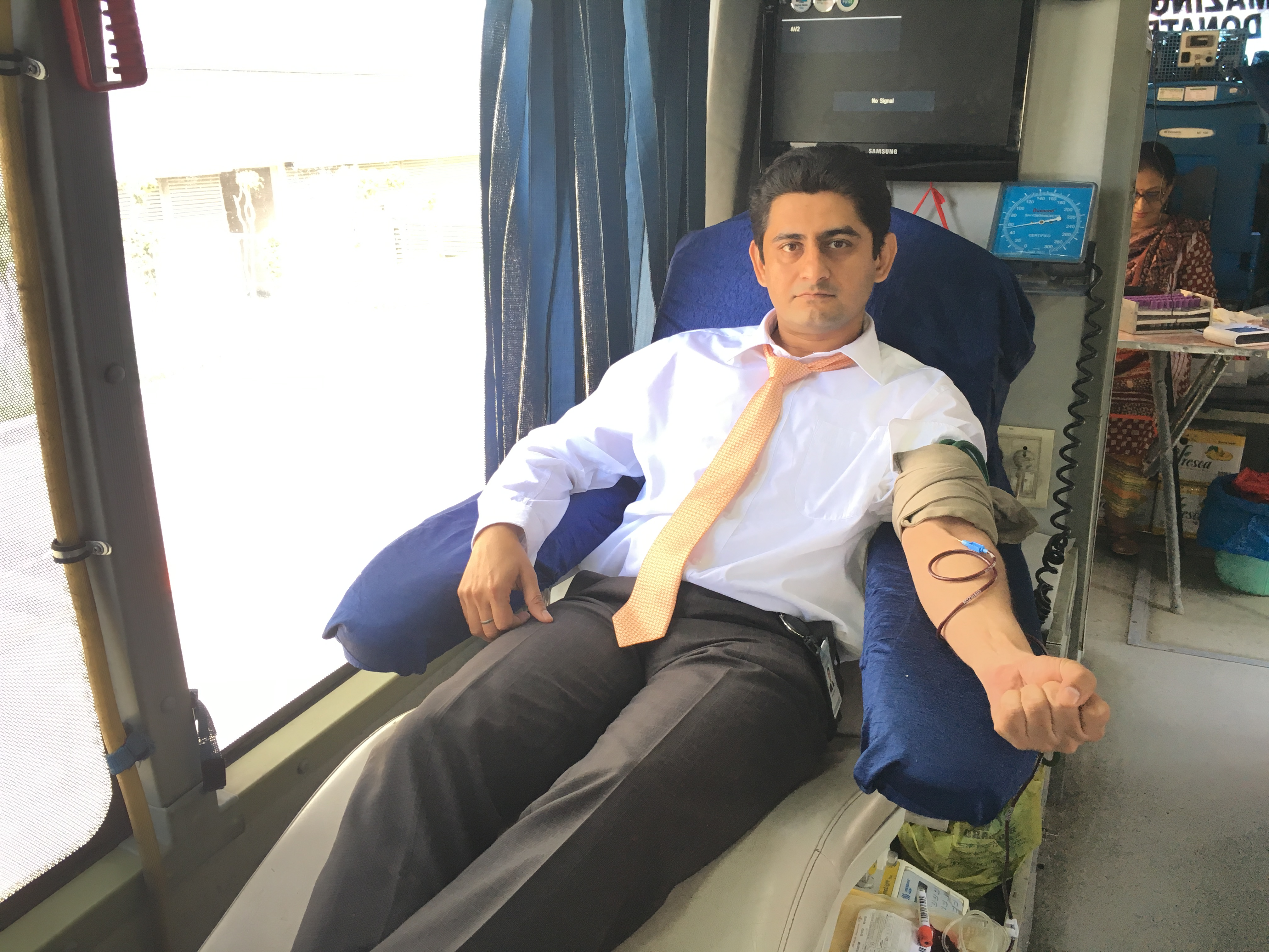 Blood Donation camp by DLF Foundation-3