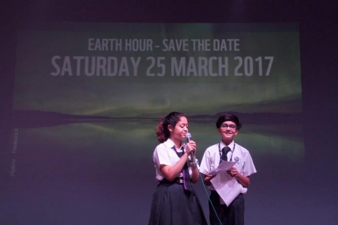 Earth Hour, Celebration, Lancer International School