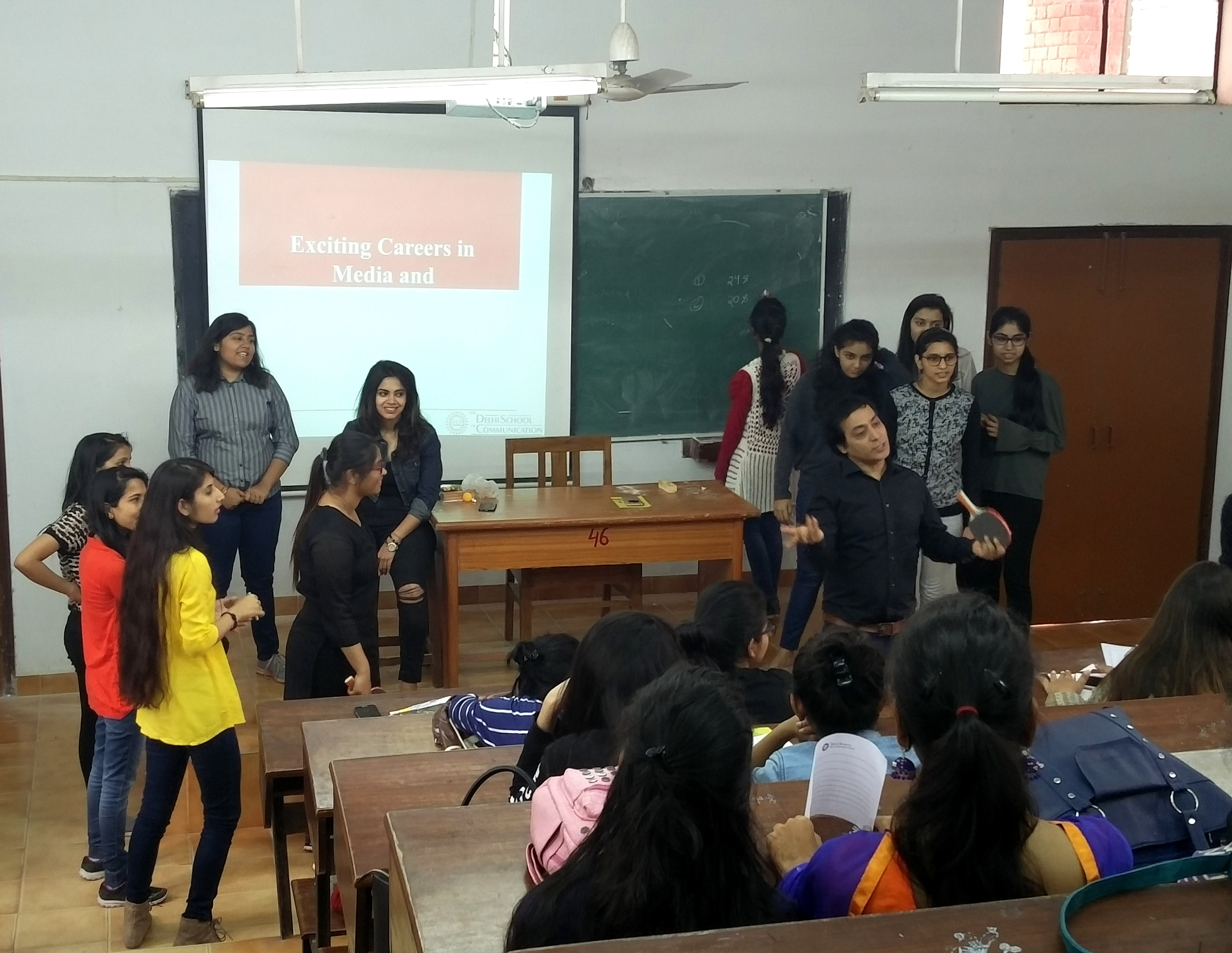 DSC Conducted Workshops on Exciting Careers in Media