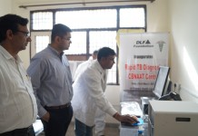 Second CB-NAAT Machine Installed in Gurgaon