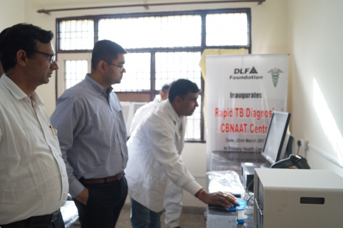 Second CB-NAAT Machine Installed in Gurgaon
