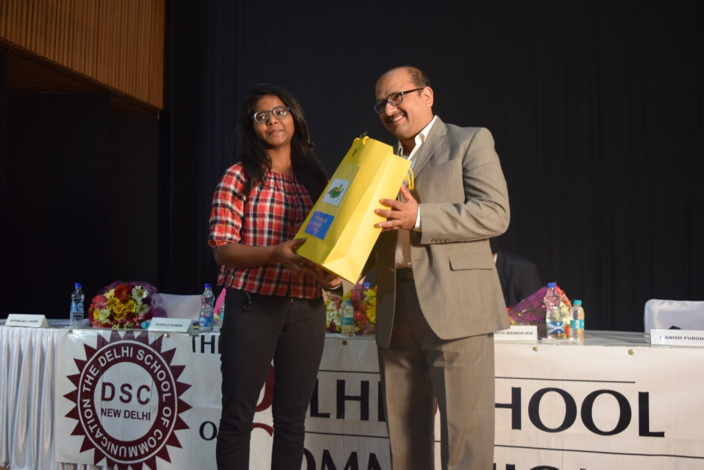 On the eve of World Book Day, Prof. Ramola Kumar, Dean, The Delhi School of Communication launched two books