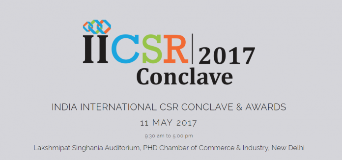 The India International CSR Conclave & Awards 201