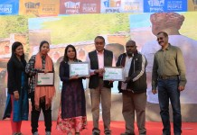 IMS Noida's Salaam Namaste Community Radio won 5th eNGO Challenge Award