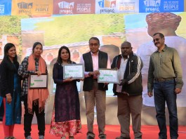 IMS Noida's Salaam Namaste Community Radio won 5th eNGO Challenge Award