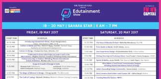The Fifth Edition of The Edutainment Show