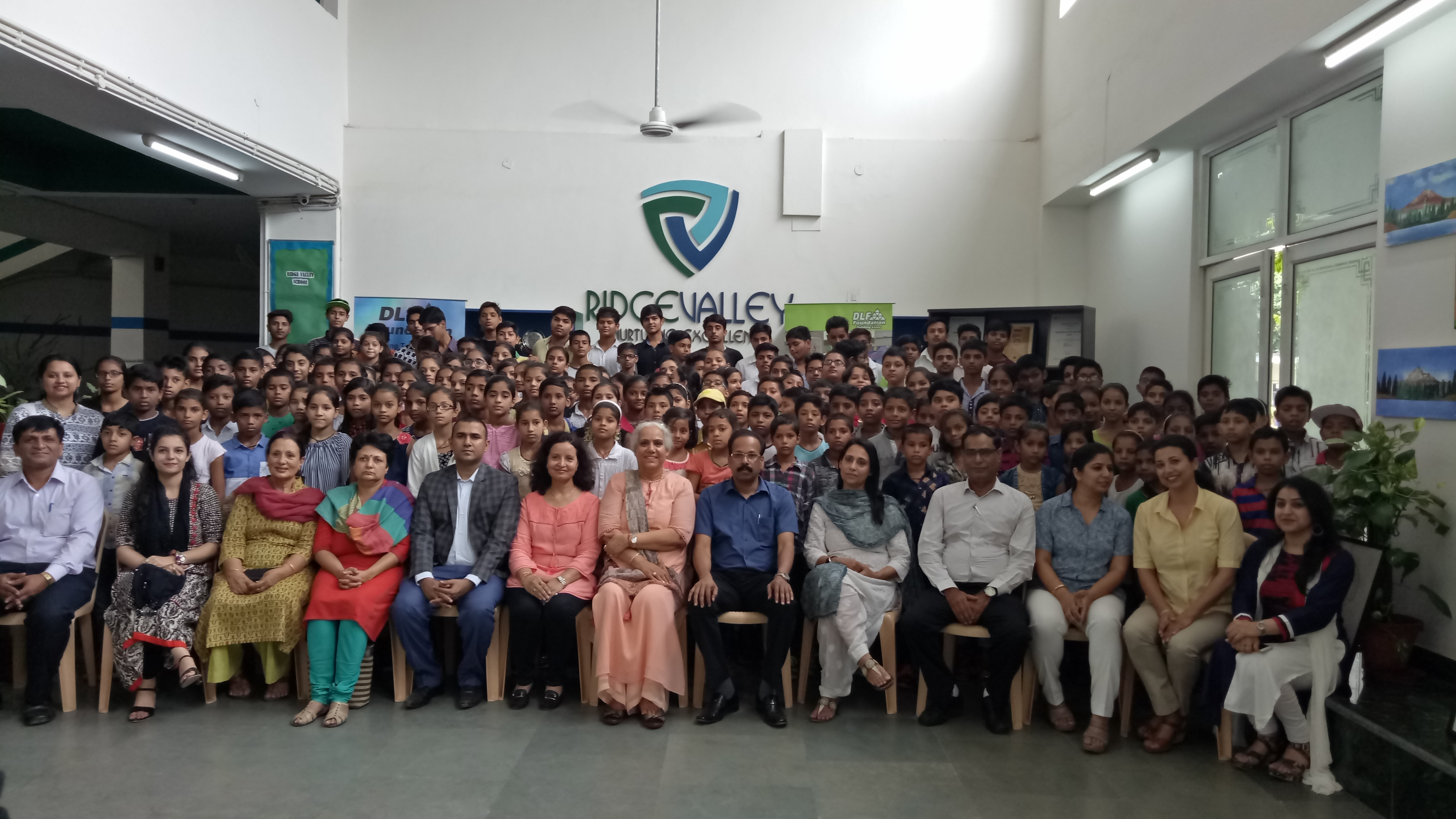 Summer Camp, Shape of Dreams, DLF, Students