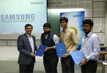 Samsung Innovation Awards, IIT Kanpur