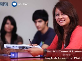 British Council, Jio Chat, English Learning