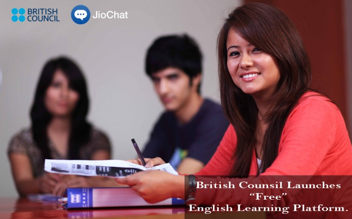 British Council, Jio Chat, English Learning