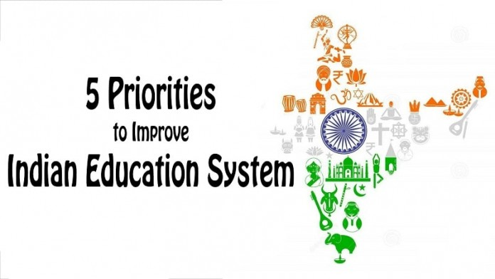 Indian education system, priorities