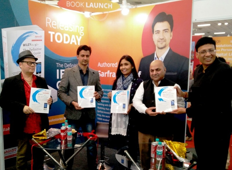 IELTS Book Launched by Wiley India and Abhinav · Education