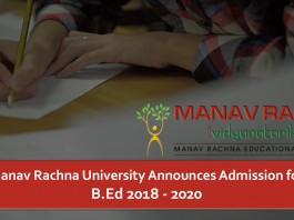 MRU, Manav Rachna University