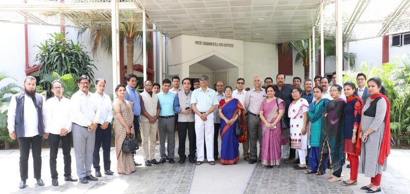 Team ITDC & Jamia Millia Islamia post signing the MoU-min