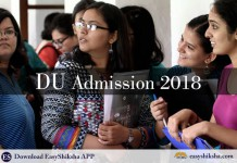DU, admission, 2018, delhi university admission