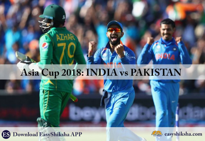Asia cup, 2018, India vs pakistan