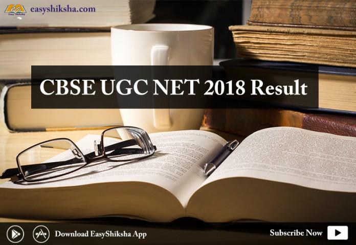 CBSE UGC NET 2018 Result, cbse