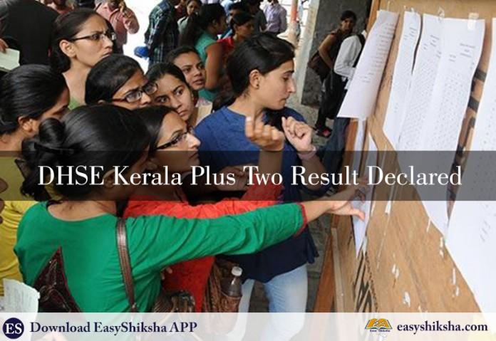DHSE Kerala Plus Two Result, DHSE, KERALA