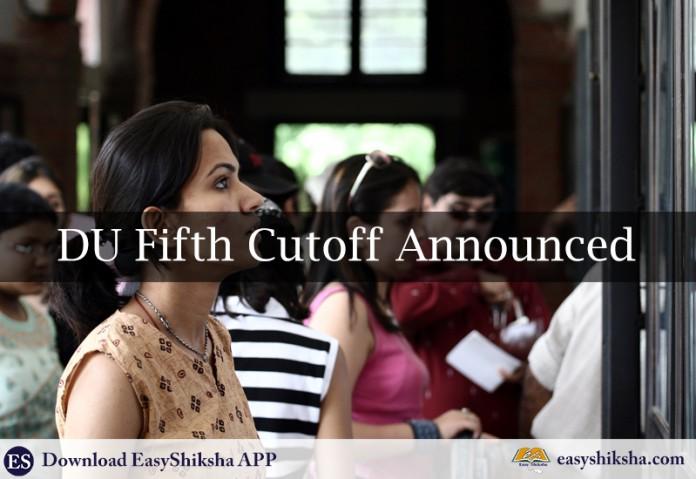 DU, Cut off, delhi university