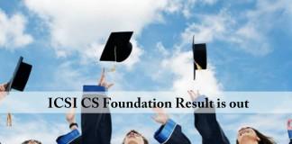 ICSI , ICSI CS Foundation, result