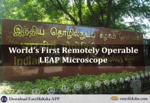 IIT Madras, LEAP Microscope