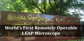 IIT Madras, LEAP Microscope
