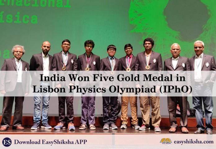 Lisbon Physics Olympiad, physica, medal