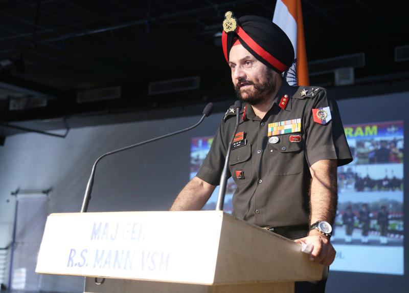 Major General R.S. Mann, ADG