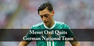 Mesut ozil, quits, german national team, sports news