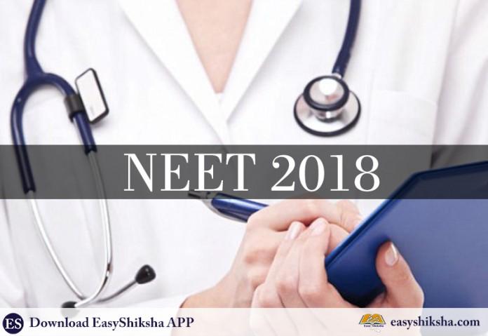 NEET 2018, Counselling