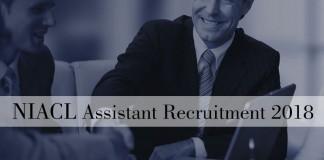 NIACL, recruitment, 2018