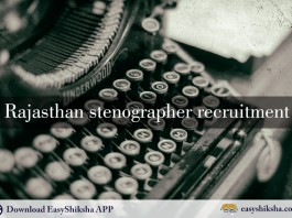 Rajasthan stenographer, stenographer